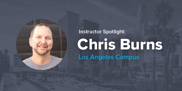 Q&A with Christopher Burns: Los Angeles Coding Bootcamp Instructor