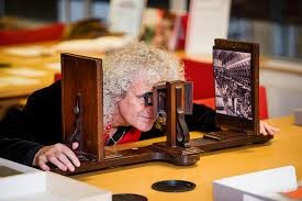 Wheatstone's stereoscope in 1838  - 43 - Reality's More Hyped Up with Augmented and Virtual Reality (AR/VR)