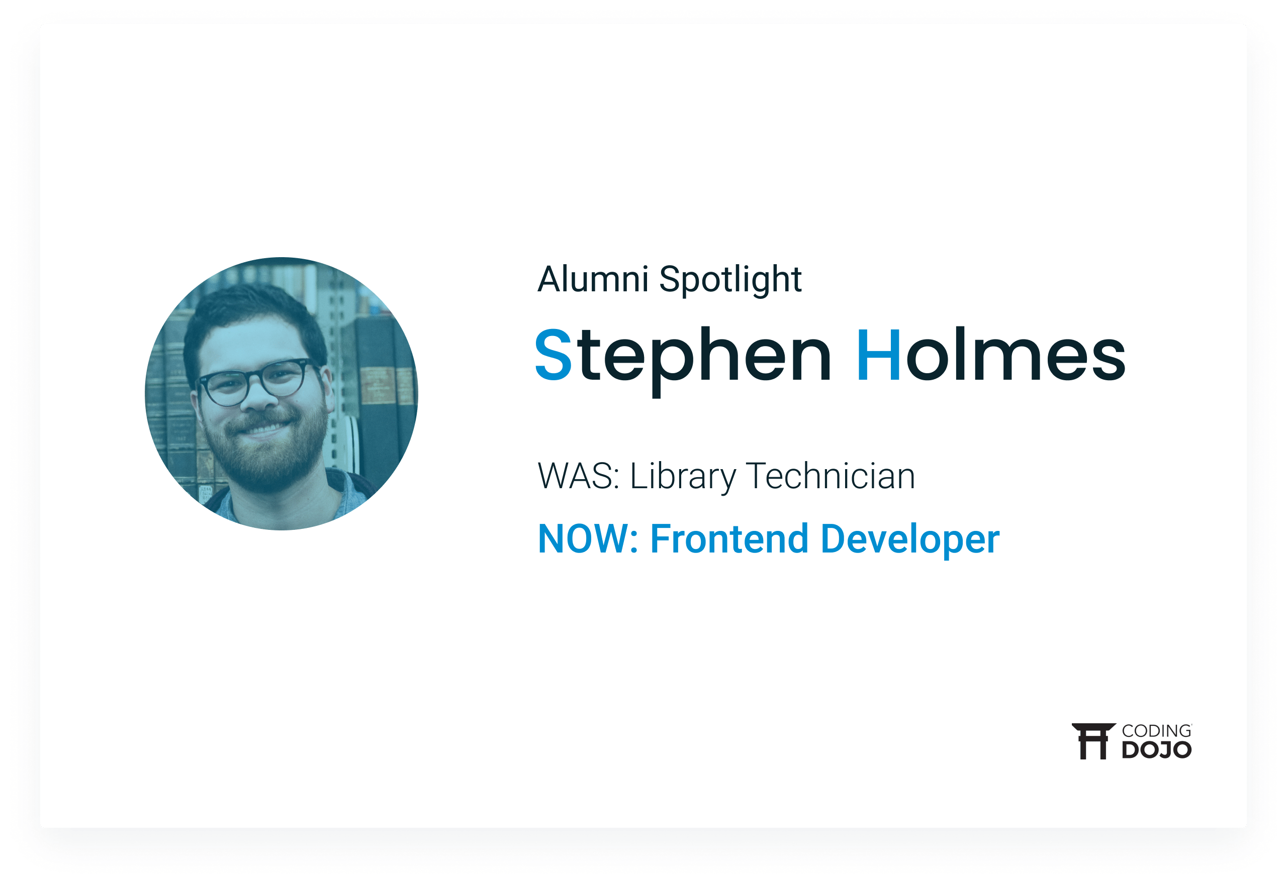 From Dewey Decimal to Developer | How Seattle Alumni Stephen Holmes Changed His Career