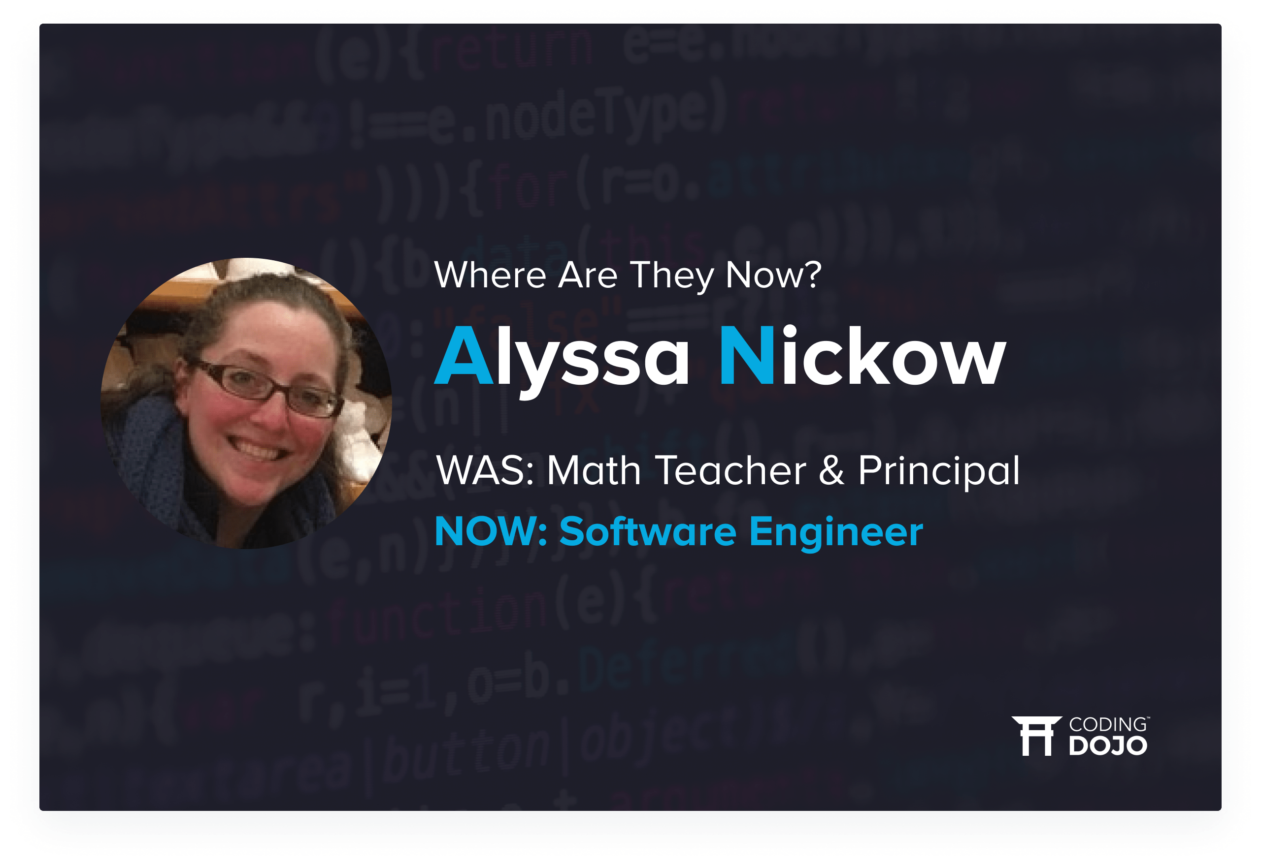 From High School Principal to High-Paid Programmer | How Chicago Alumna Alyssa Nickow Transformed Her Life & Career
