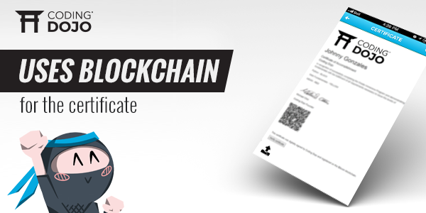 Creating Verifiable Digital Certificates for Coding Dojo Students Using Blockchain