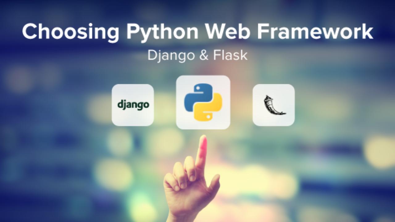 Choosing Python Web Frameworks: Django and Flask - Coding