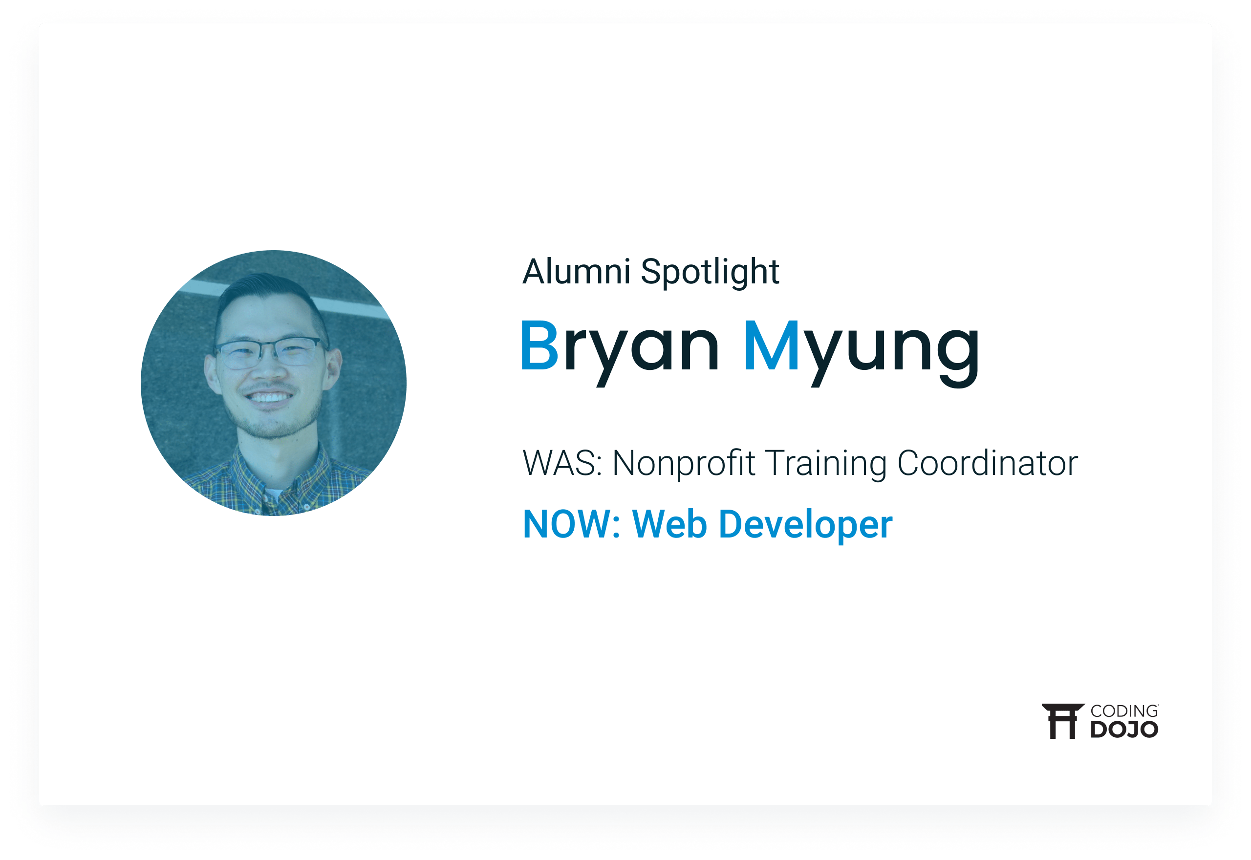 Coding Dojo Alumni Success | Bryan Myung