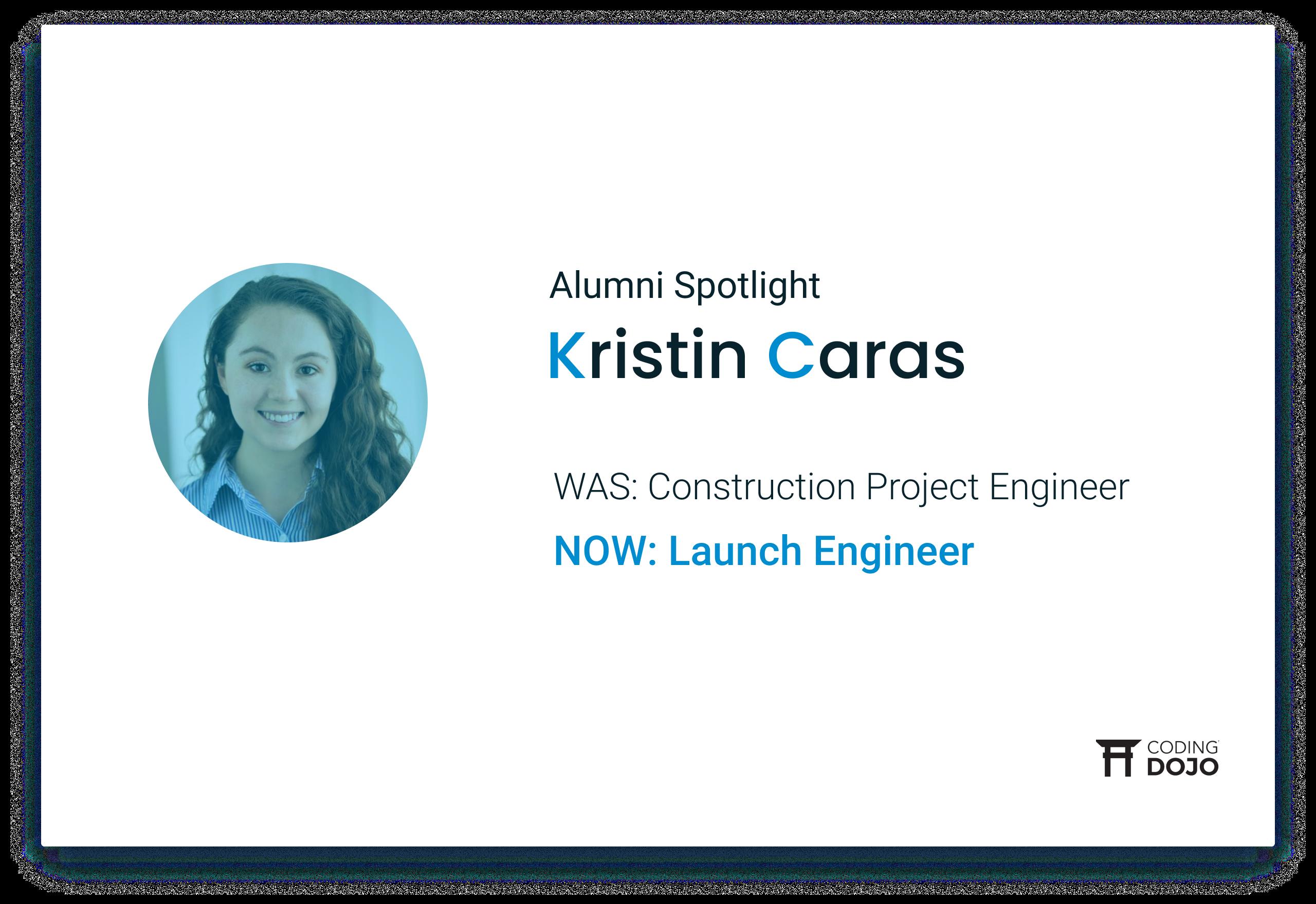 Coding Dojo Alumna Success | Kristin Caras