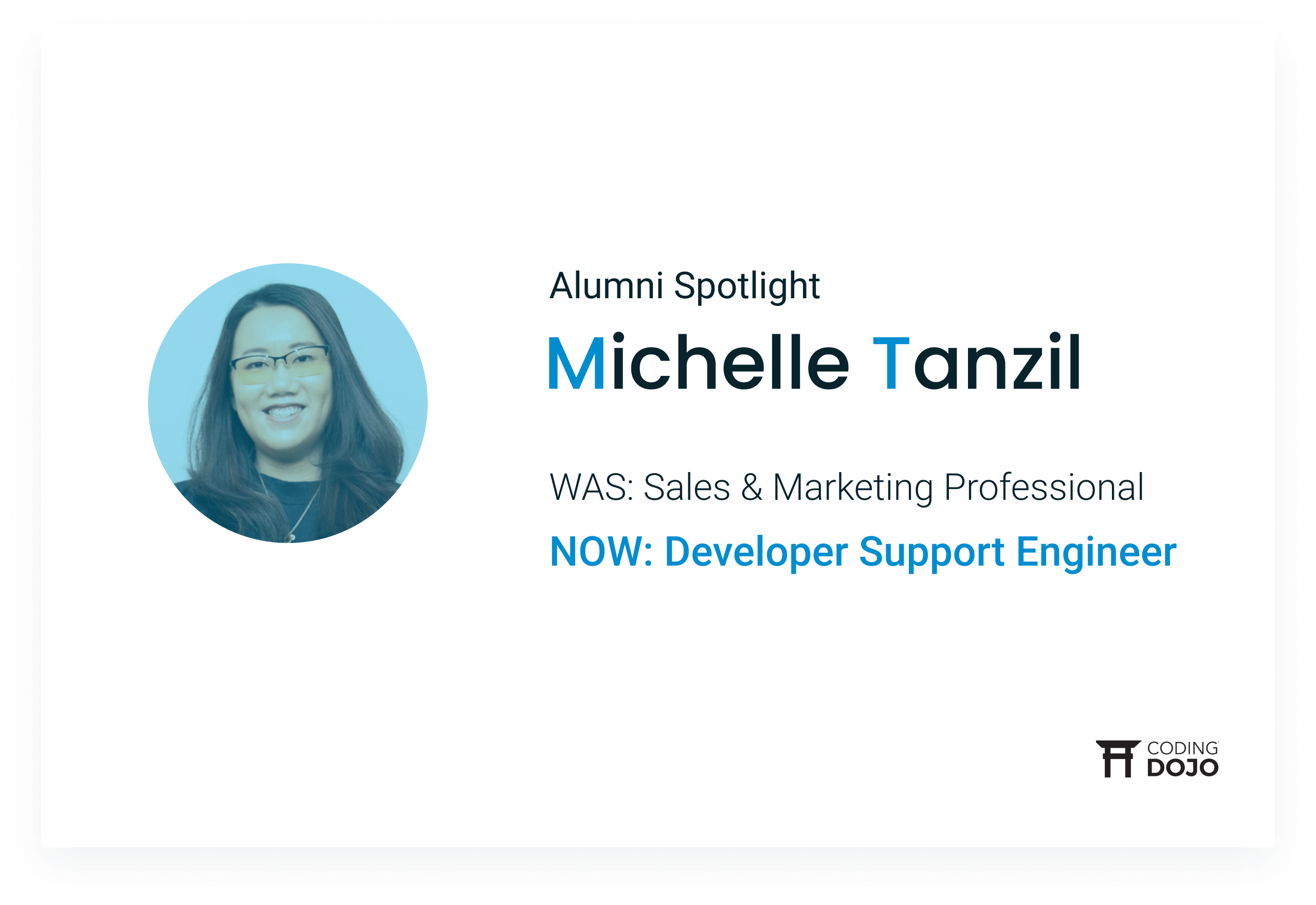 Coding Dojo Alumni Success | Michelle Tanzil