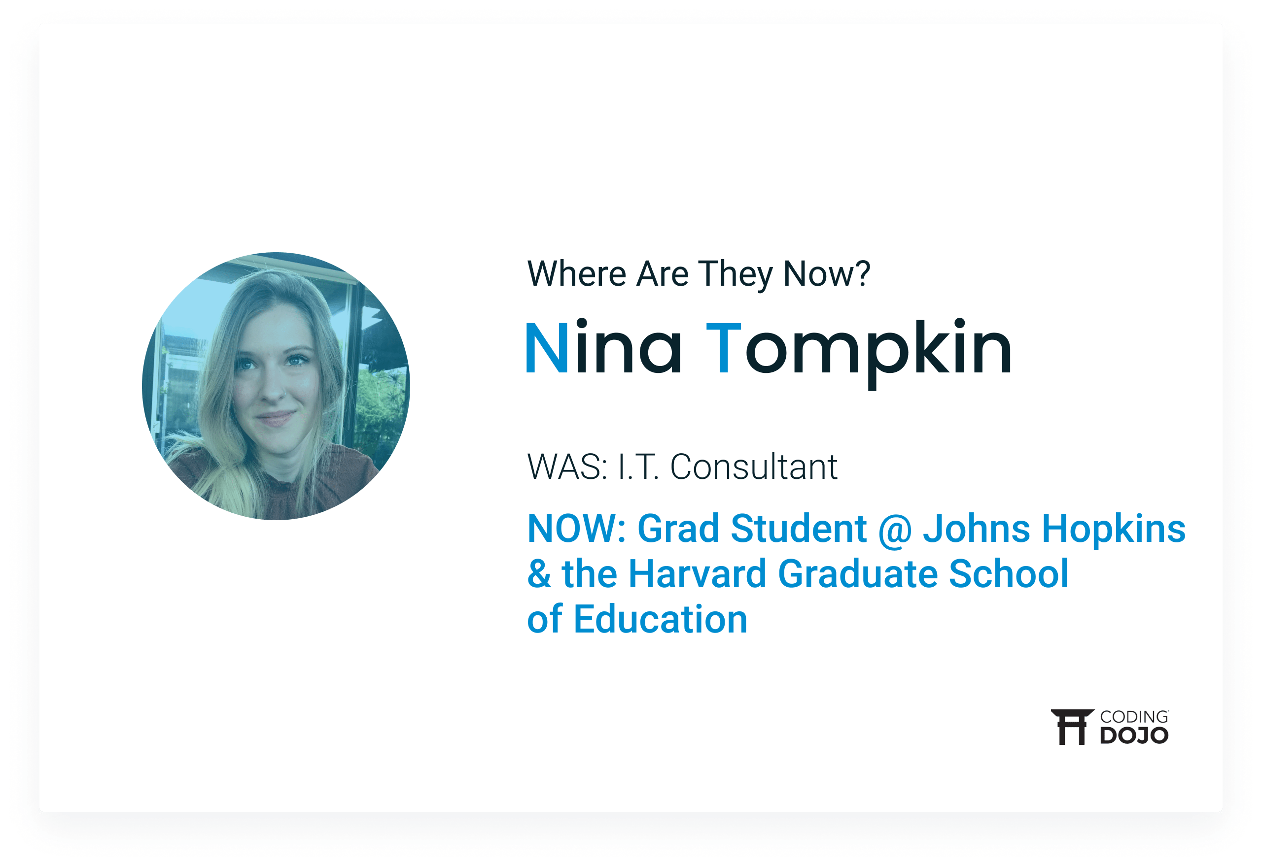 From I.T Consultant to the Halls of Harvard | How Nina Gervaise Tompkin Gained Newfound Confidence in Coding Bootcamp