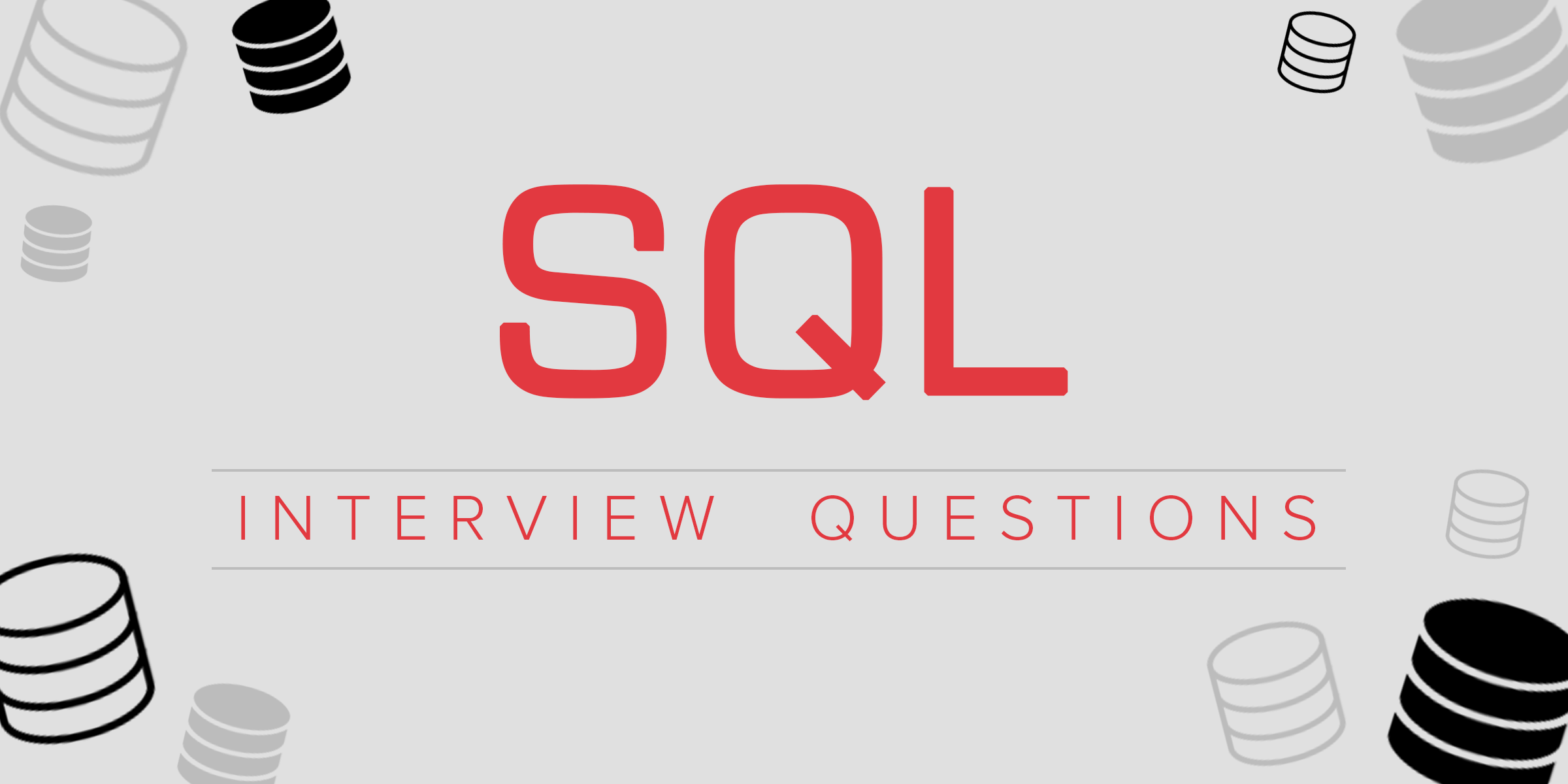 SQL Job Interview Questions And Answers