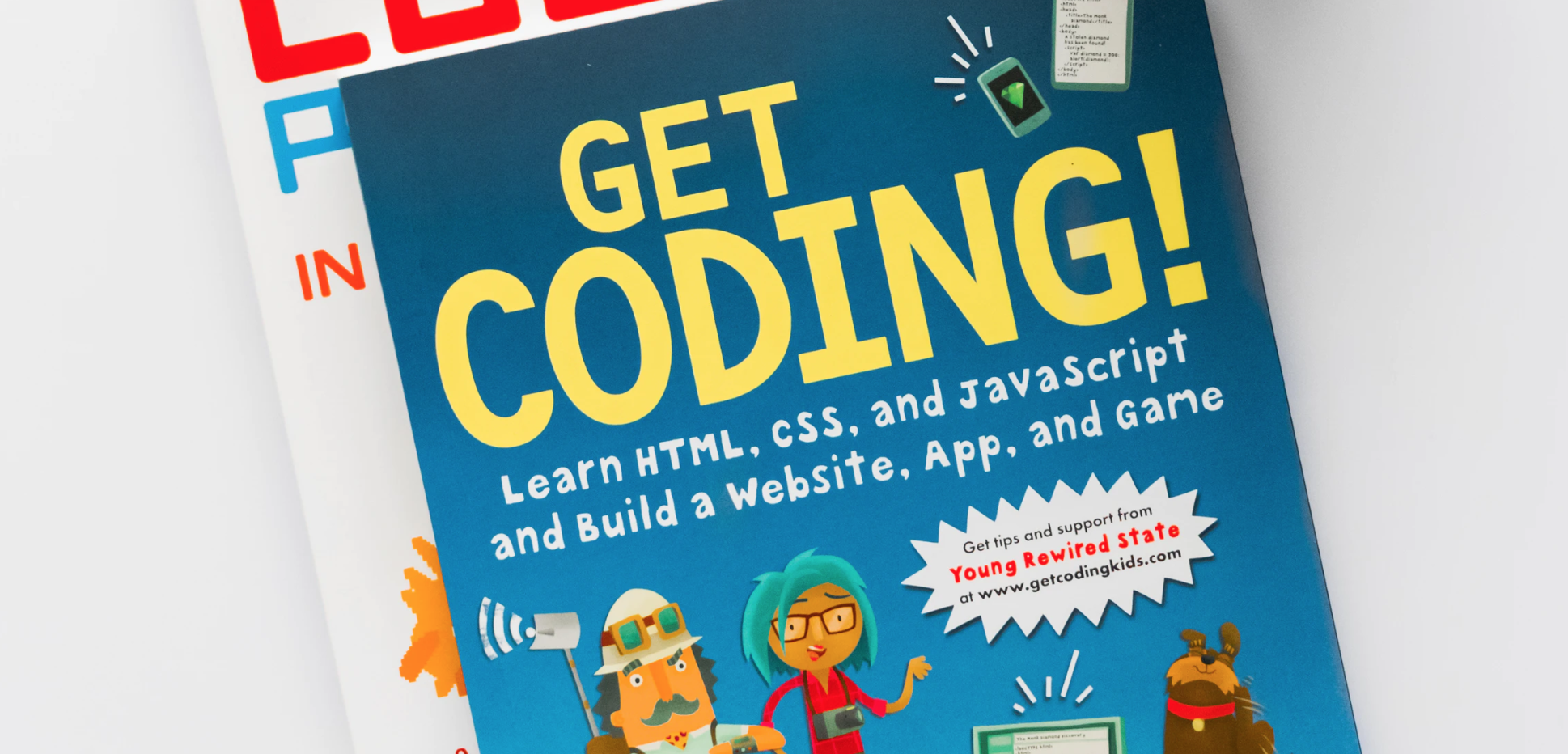 Books on how to start coding