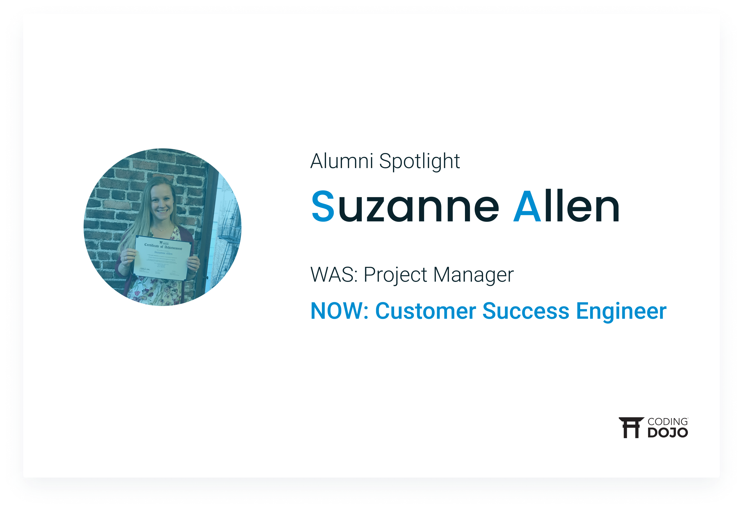 From B2B Marketing to Building Robots | How Suzanne Allen Gained Confidence & a New Career