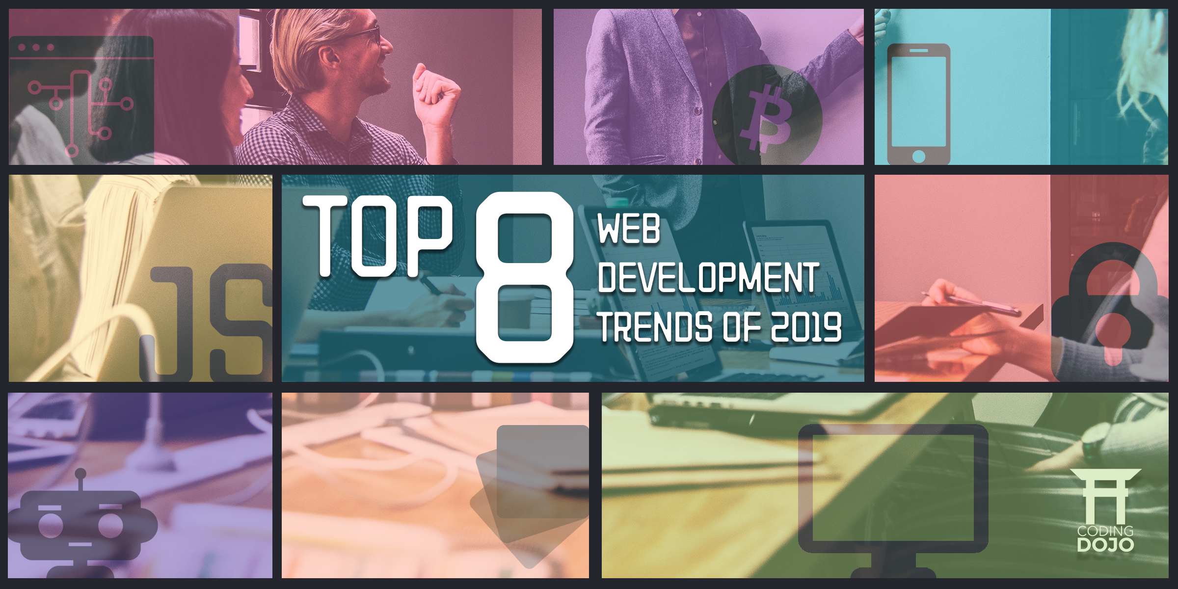 Top 8 Web Development Trends of 2019 Header