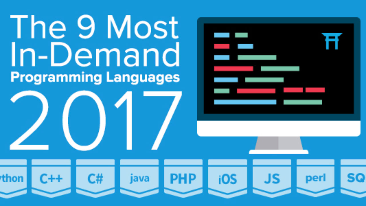 The 9 Most In-Demand Programming Languages of 2017 - Coding
