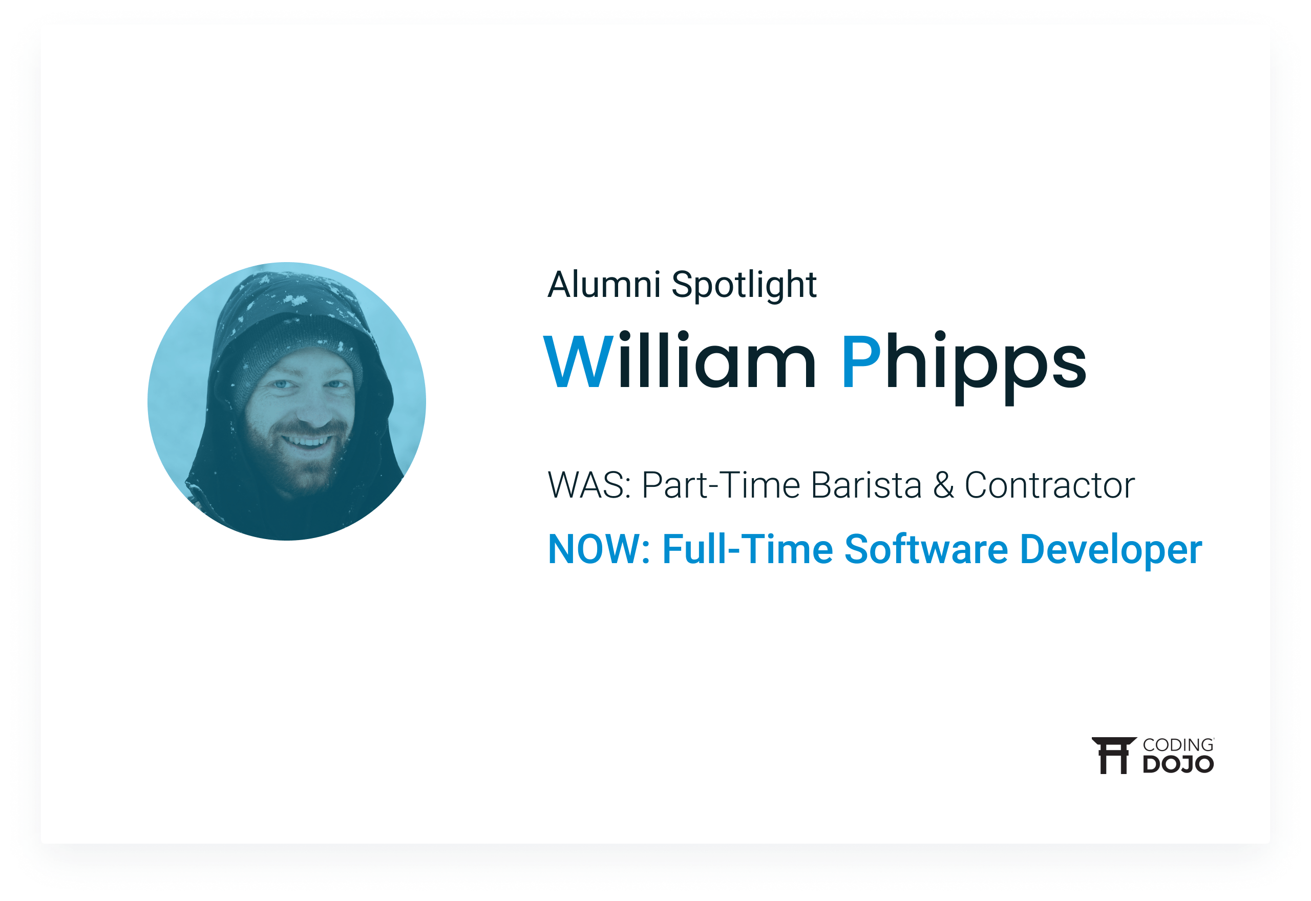 Coding Dojo Alumni Success | William Phipps