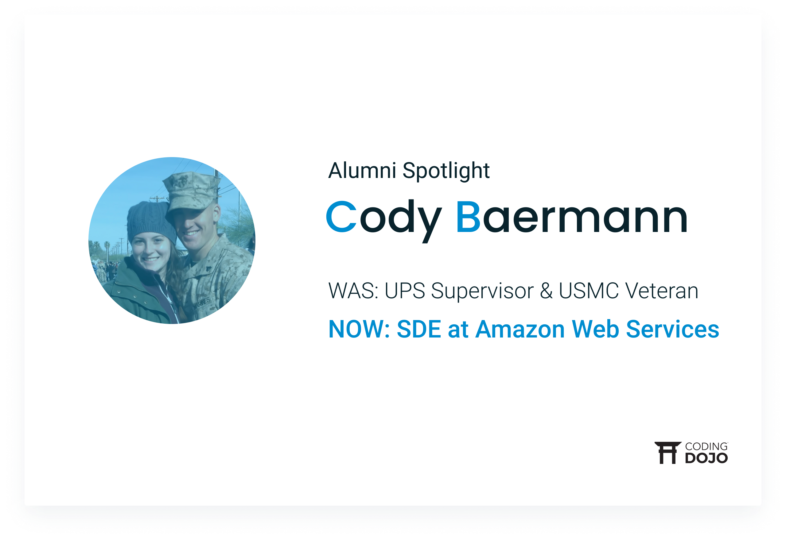 Coding Dojo Alumni Success | Cody Baermann