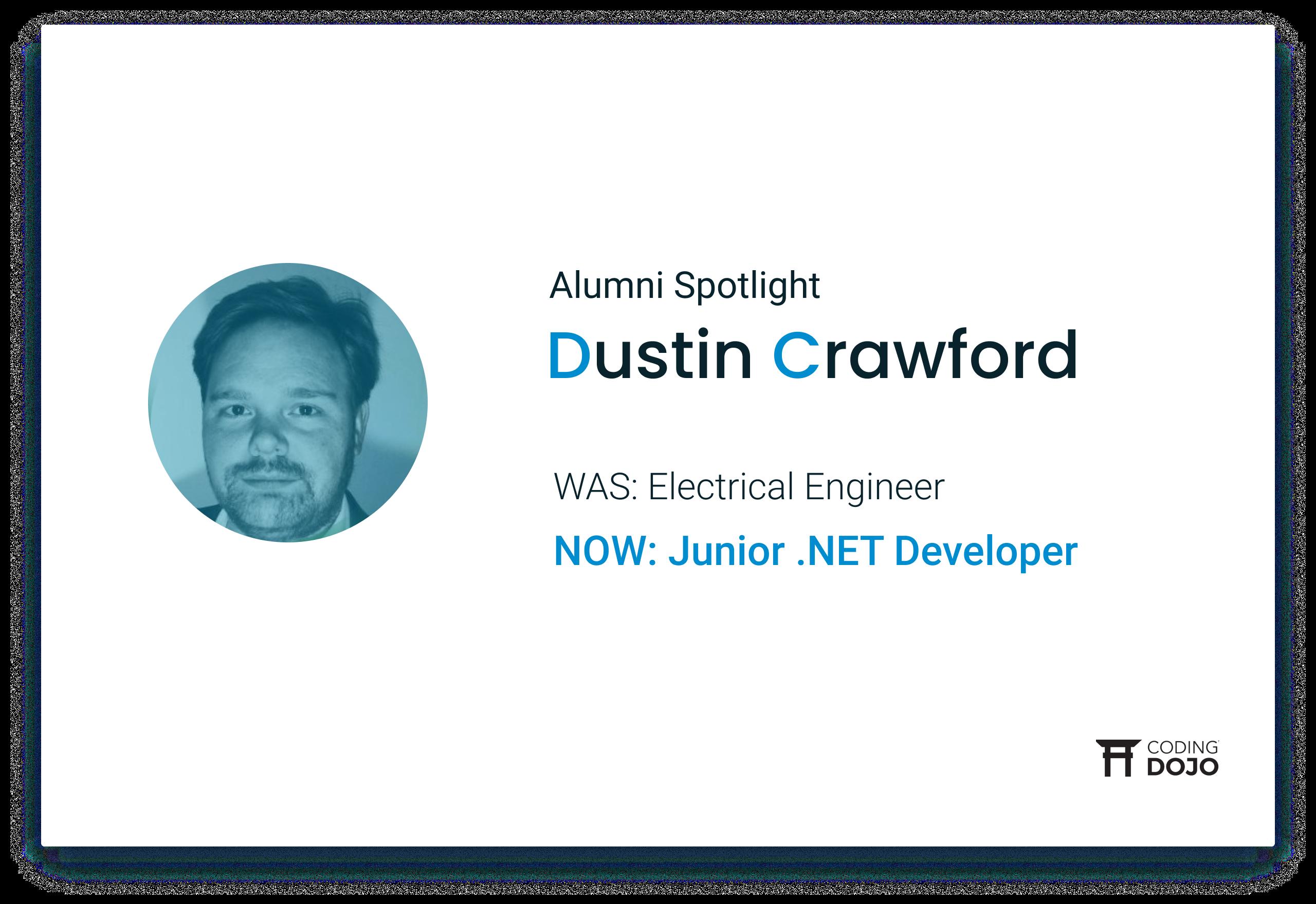 Coding Dojo Alumni Success | Dustin Crawford