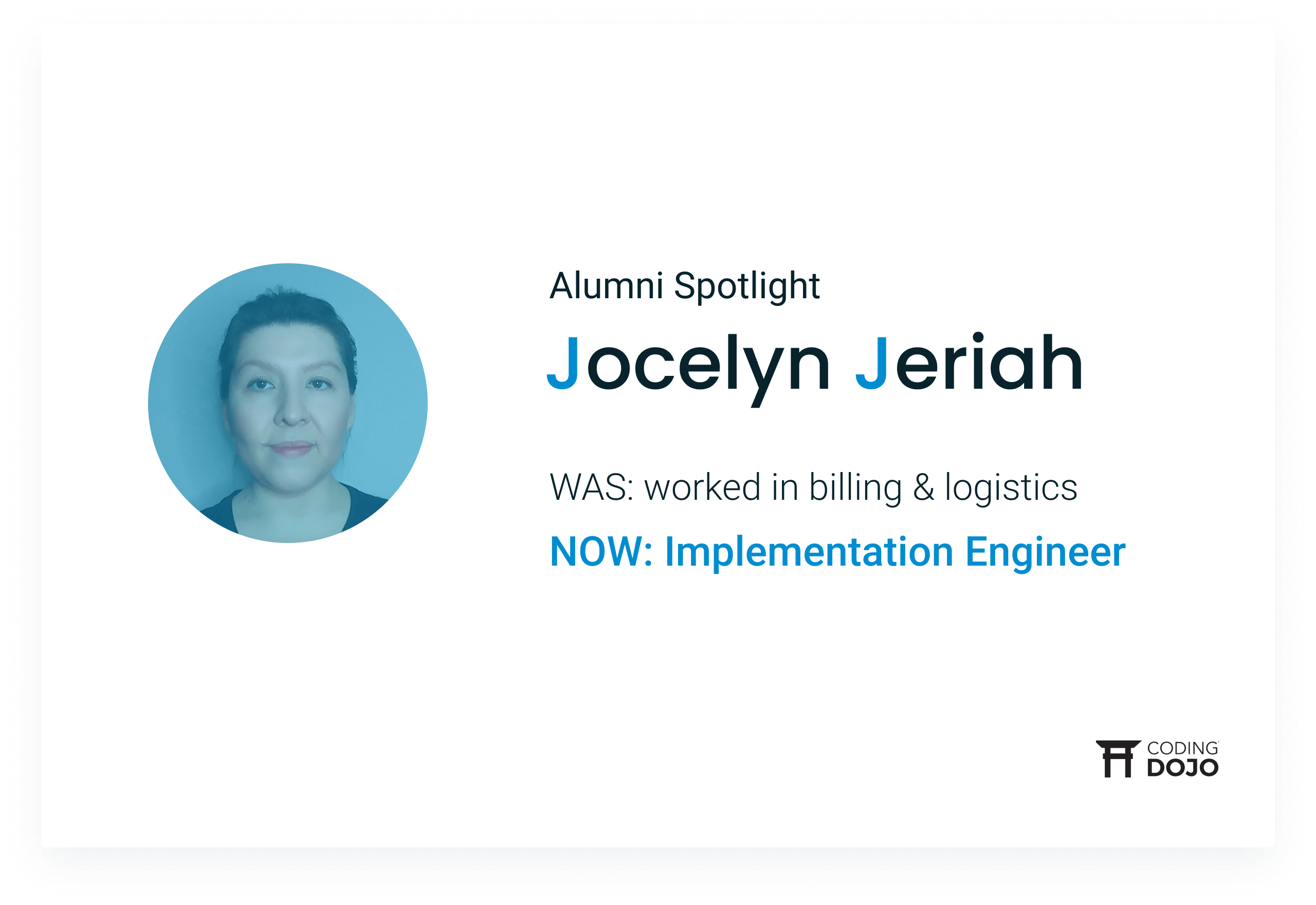 From Coordinating Inventory to Implementing Code | How Online Alumna Jocelyn Jeriah Leveled Up Her Career