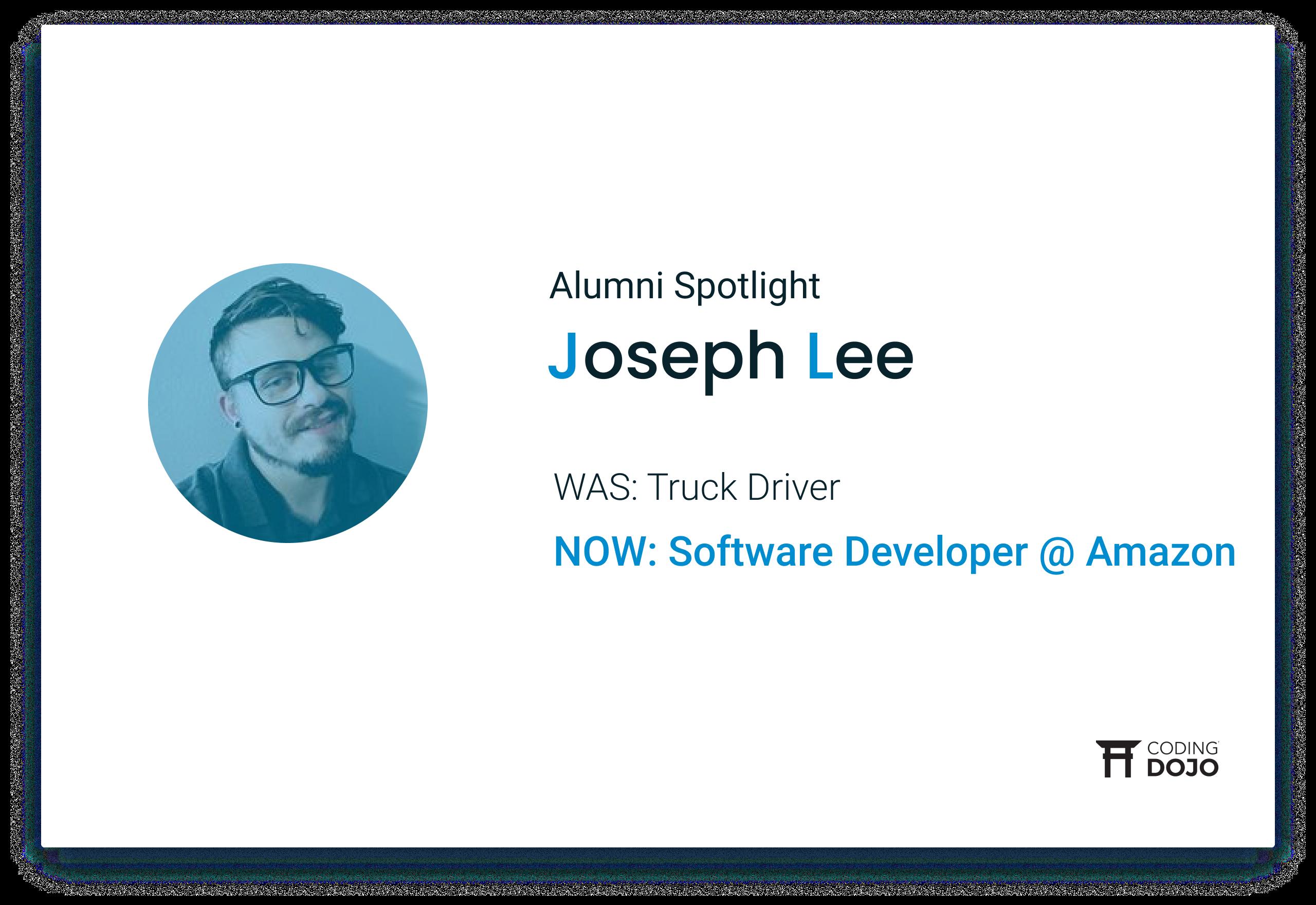 Coding Dojo Alumni Success | Joseph Lee