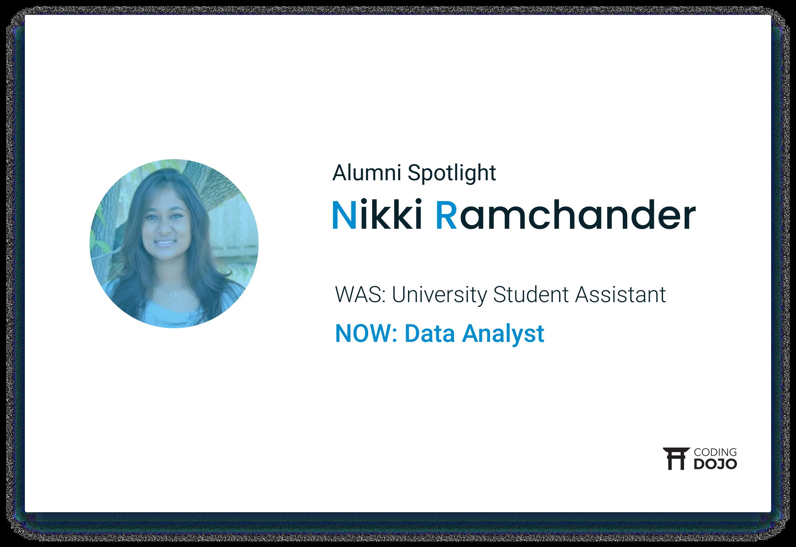 From Academia to Data Analyst | How Data Science Alumna Nikki Ramchander Found Her Dream Industry