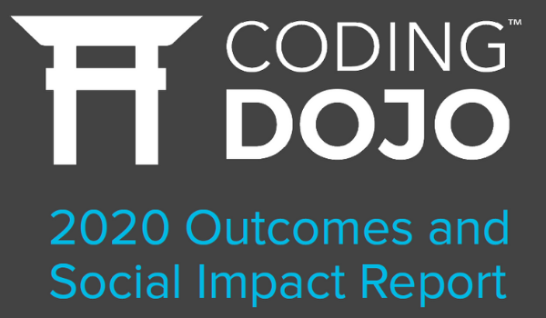 Announcing the 2020 Coding Dojo Outcomes and Social Impact Report