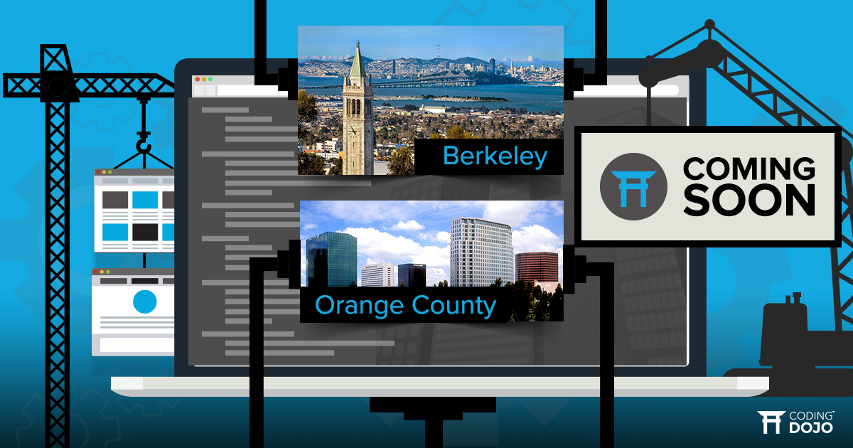 Coding Dojo Announces Launch of Orange County and Berkeley Campuses