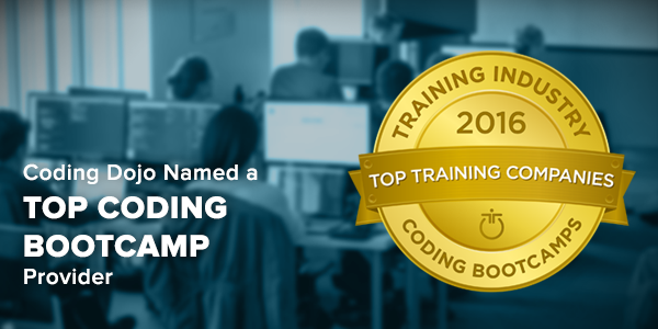 Coding Dojo Named a Top Coding Bootcamp Provider