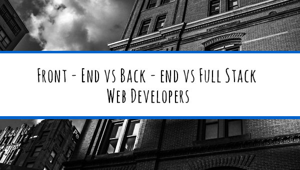 frontend-versus-backend-development