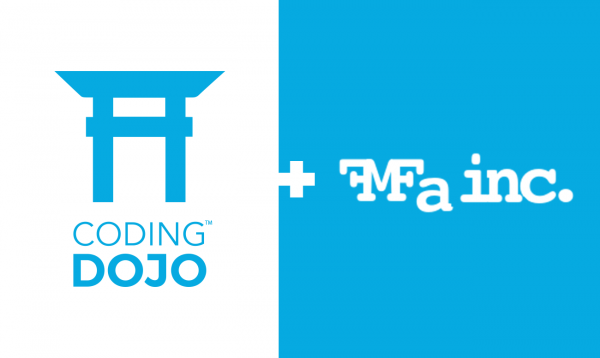 Coding Dojo Partners with FMFA - Grads Volunteer Skills and Time