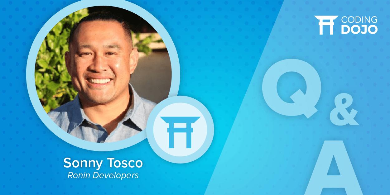 Alumni Spotlight: Sonny Tosco - Entrepreneur