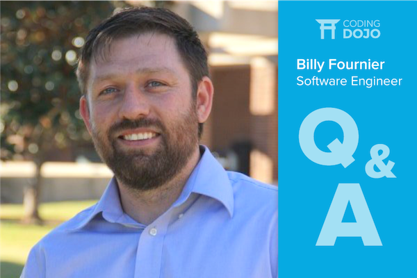 Q&A with Billy Fournier, Software Engineer
